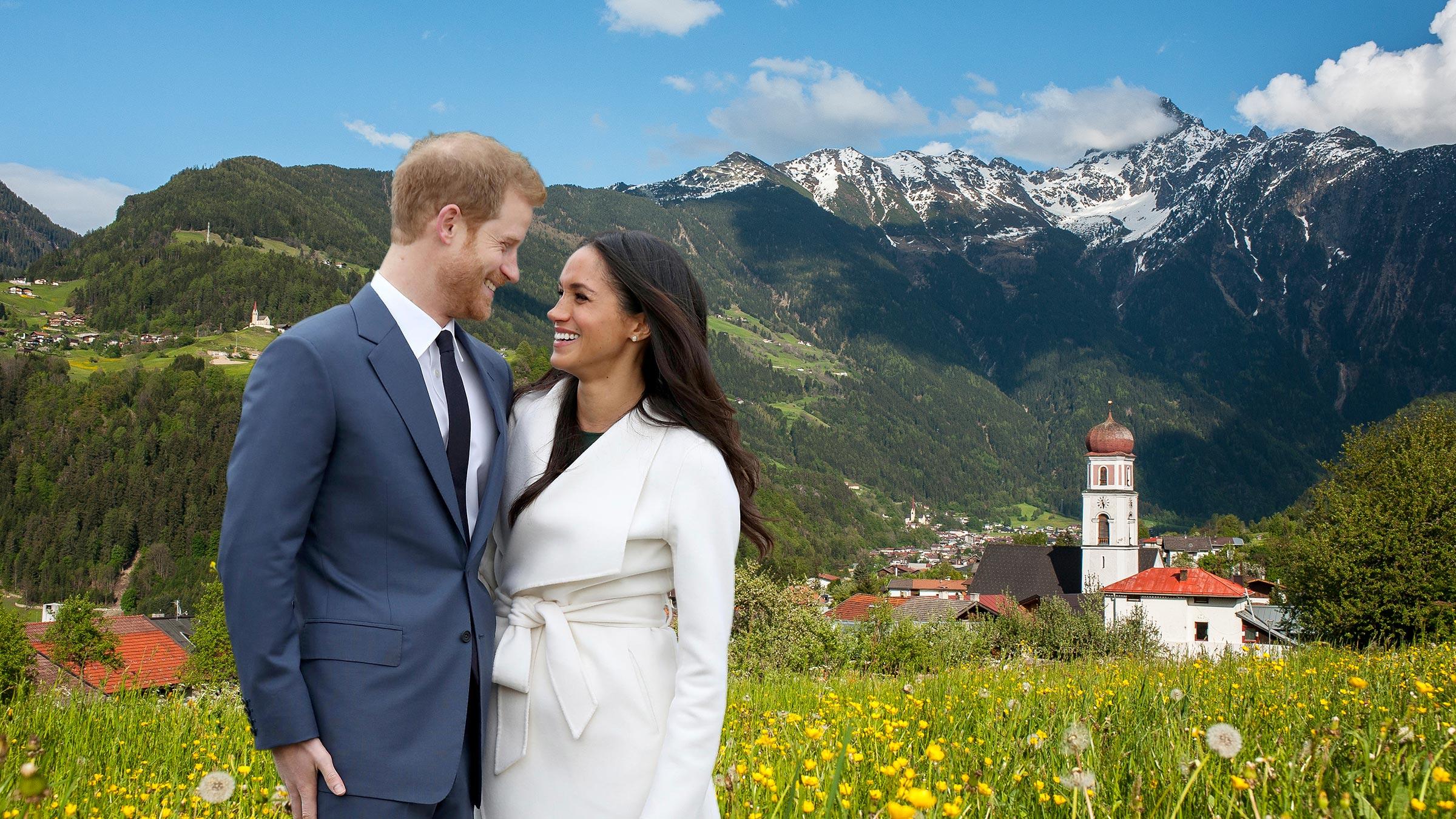 Prinz Harry & Meghan Markle verbringen die Flitterwochen im Ötztal!