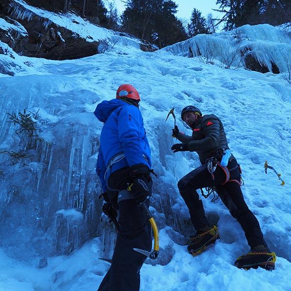 Einführung ins Eisklettern - Eisklettern Ötztal