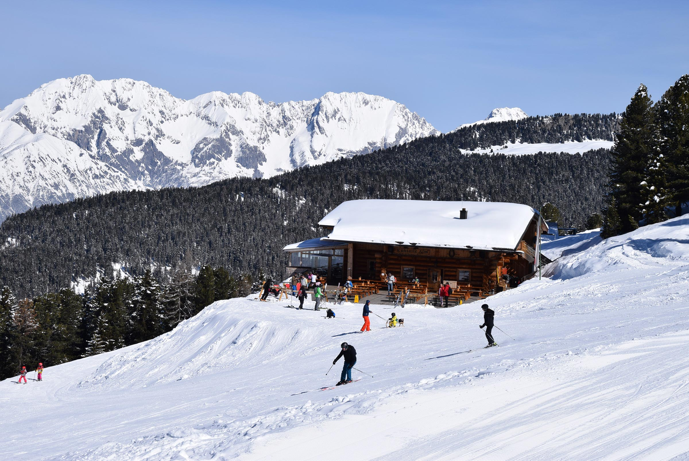Kühtaile Alm - Skiregion Hochoetz