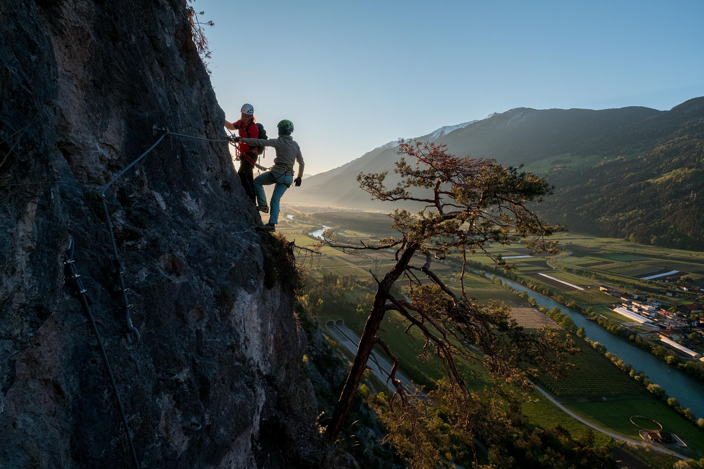 Klettersteig Geierwand - Ötztaler Mountainbike Festival