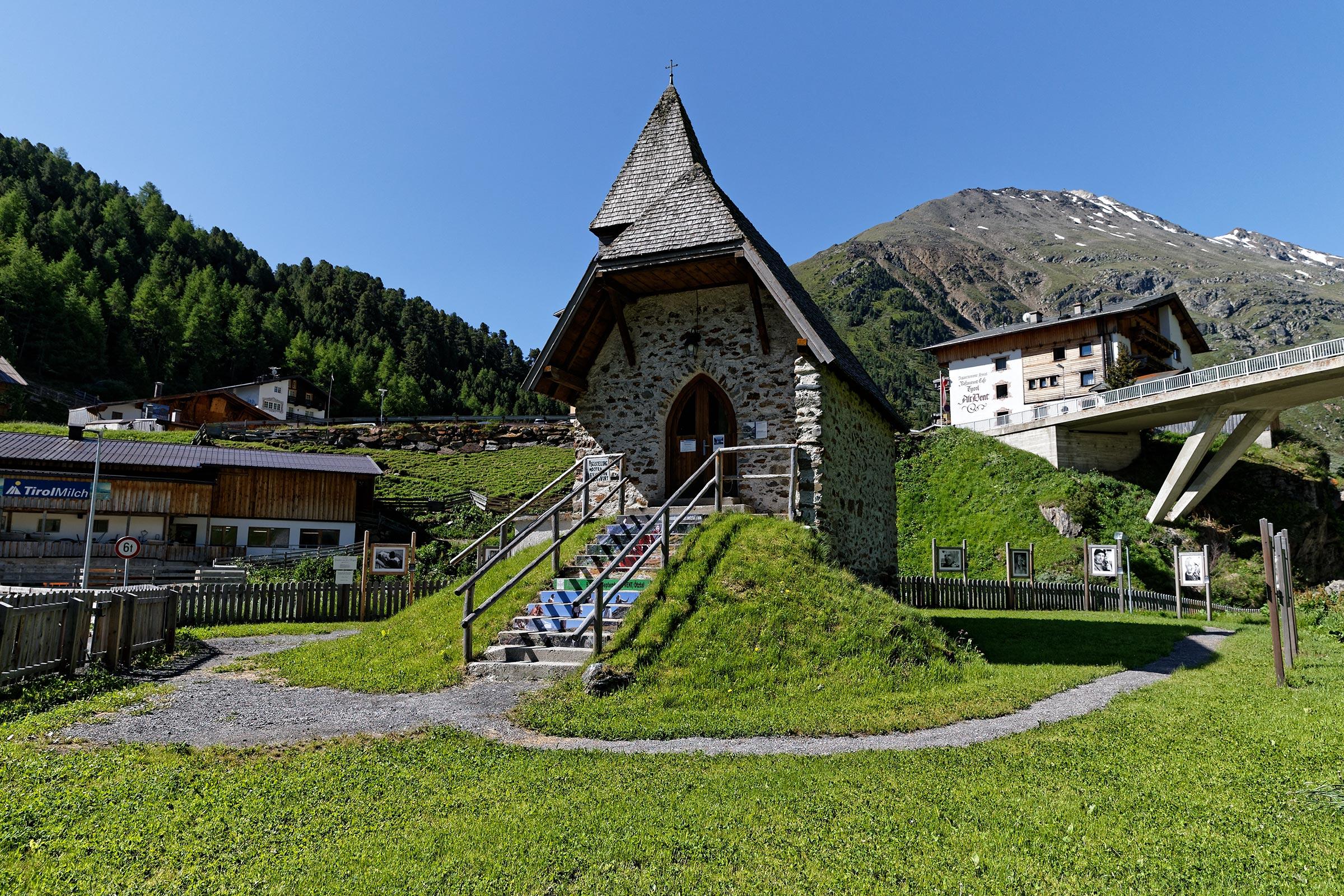 Bergsteigerkapelle in Vent - Ötztaler Urweg