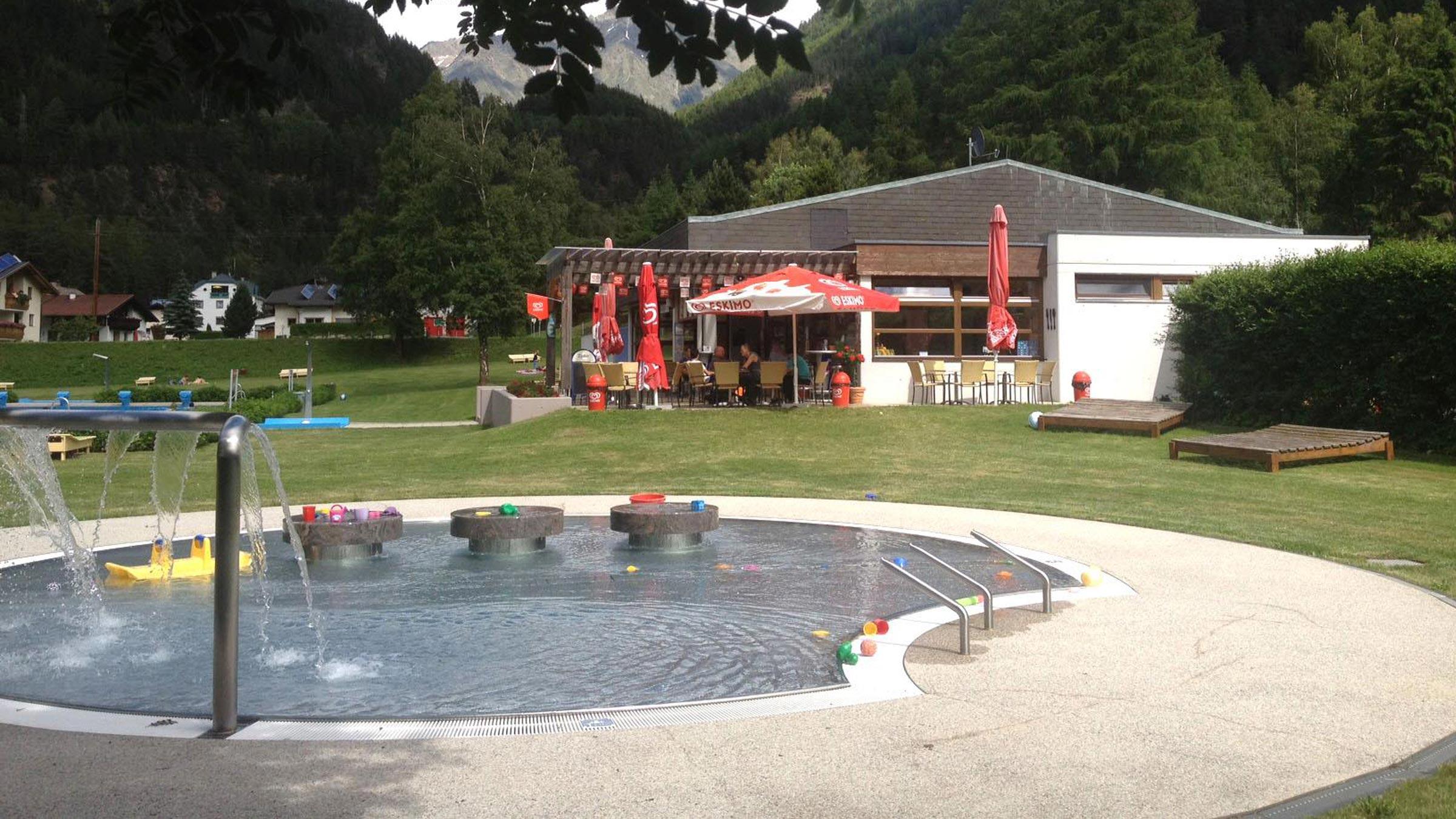 Freibad Längenfeld - Badeseen und Schwimmbäder Ötztal