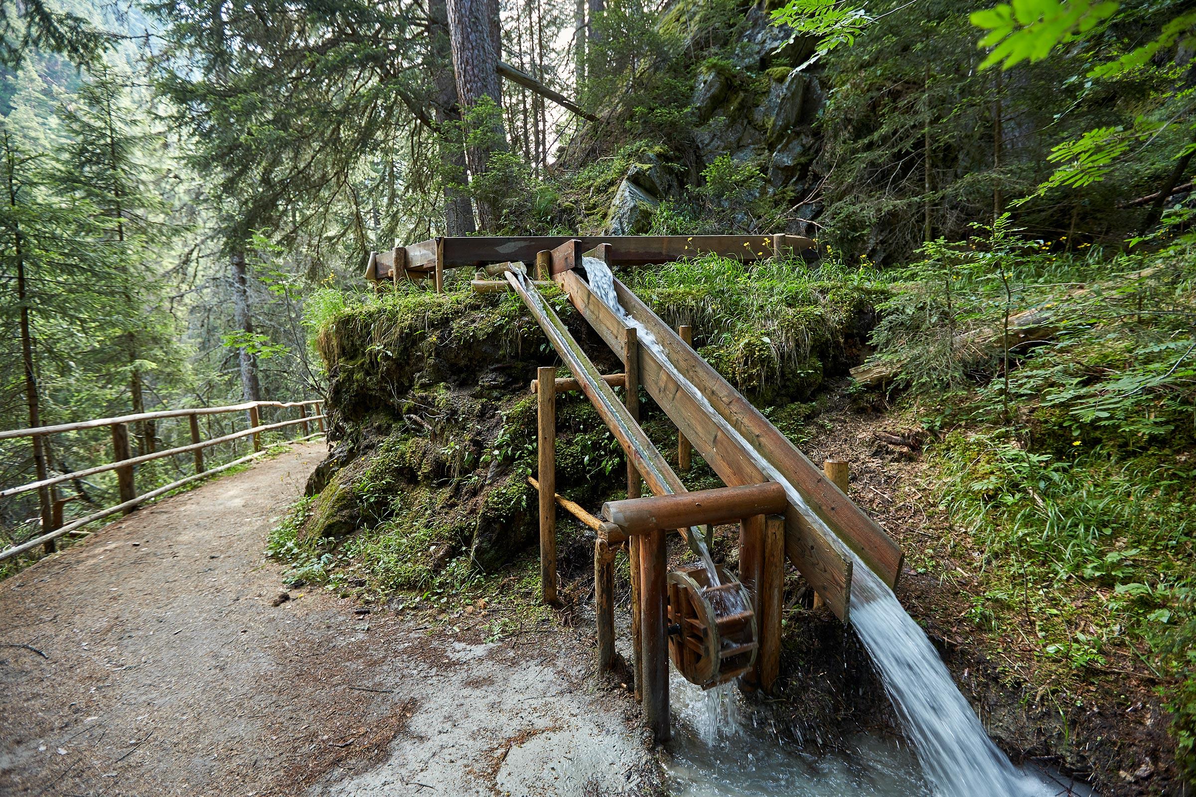 Waalweg bei Sölden - Ötztaler Urweg