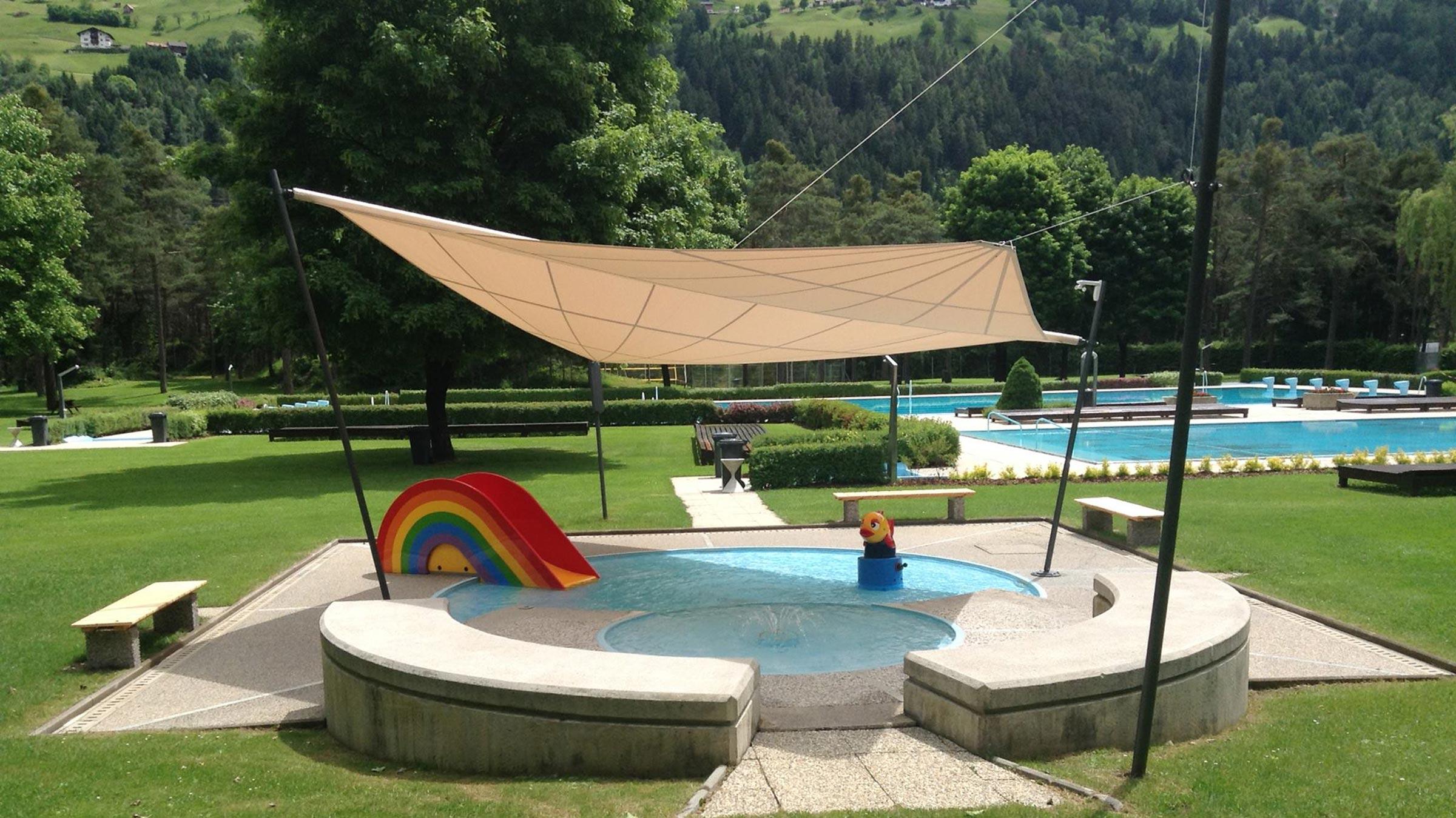 Waldbad Haiming - Badeseen und Schwimmbäder Ötztal
