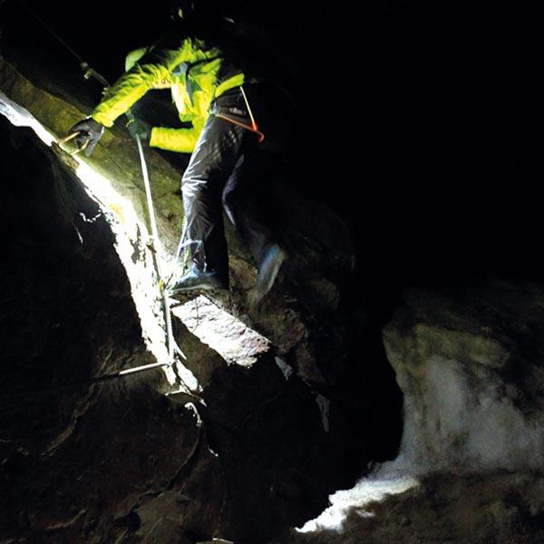 Abstieg im Sturm - Wildspitze Ötztal