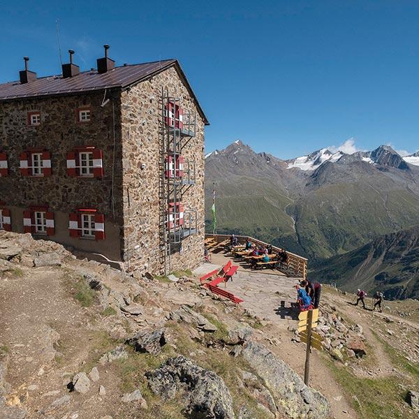 Breslauer Hütte - Wildspitze Ötztal