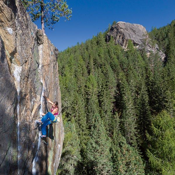 Klettergarten Niederthai - Klettern Ötztal
