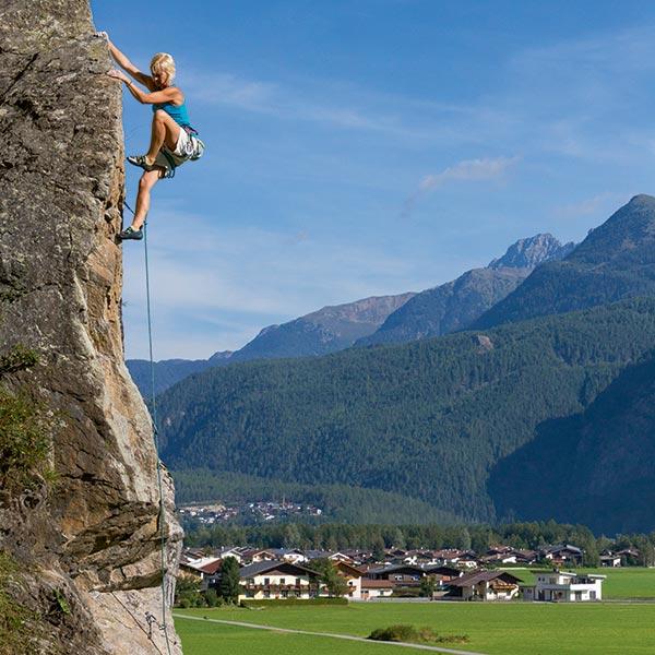 Klettergarten Oberried - Klettern Ötztal