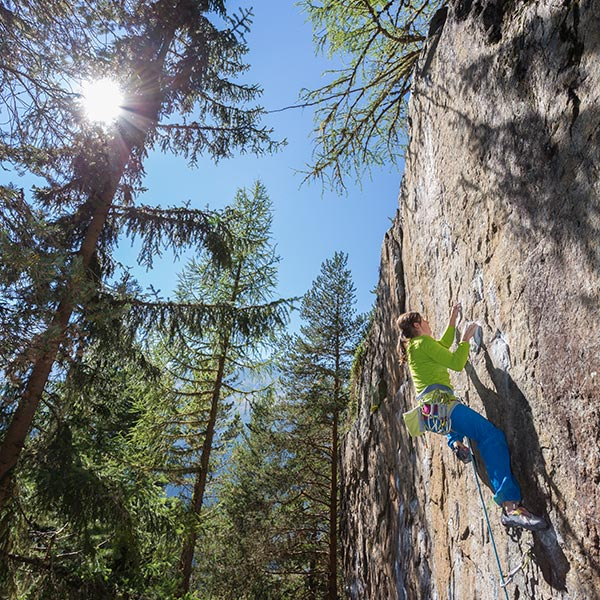 Klettern in Niederthai - Klettern Ötztal