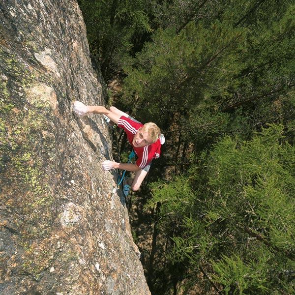 Kletterer Tobias Holzknecht - Klettern Ötztal