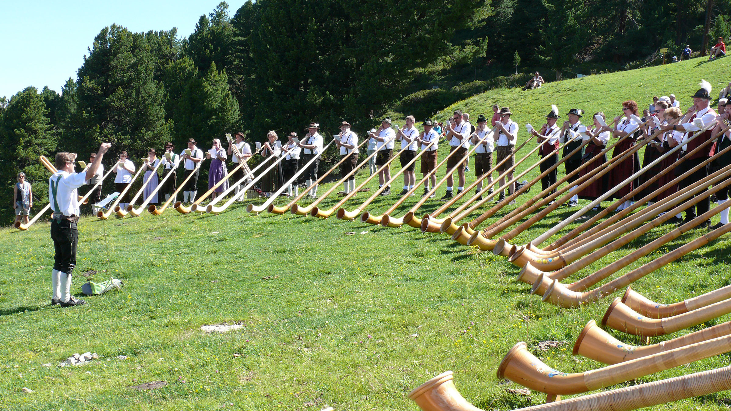 Das Instrument für alpine Auftritte