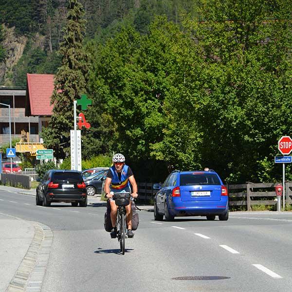 Gert Lammens auf Fahrrad - Rad-Weltmeisterschaft Ötztal