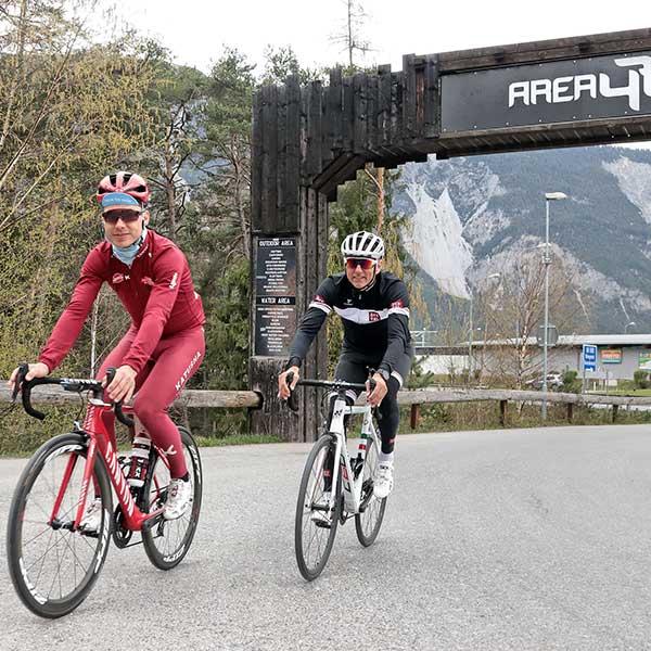 Tony Martins & Oliver Schwarz - Rad-Weltmeisterschaft Ötztal