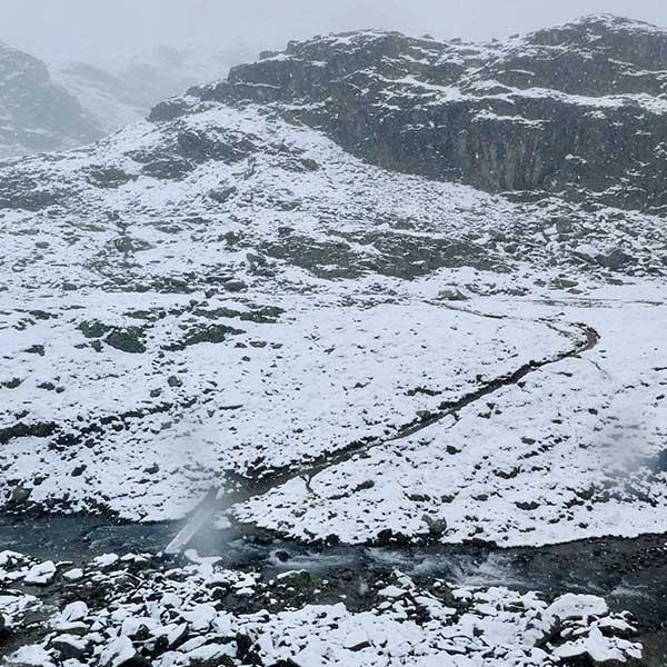 Winterliche Stimmung - Unterwegs auf dem Ötztaler Urweg