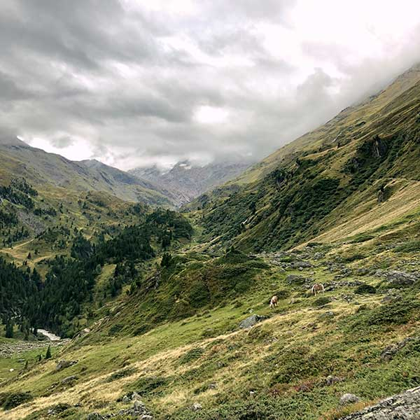 Auf dem Weg zum Ramolhaus - Unterwegs auf dem Ötztaler Urweg
