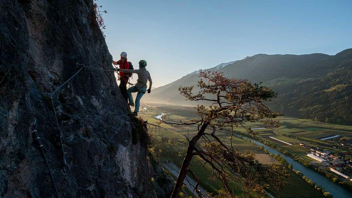 Klettersteig Geierwand - Herbsturlaub Haiming