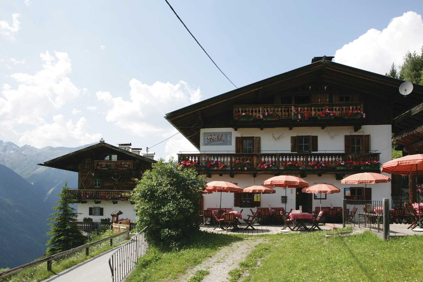Jausenstation Bichl - Hütten Ötztal