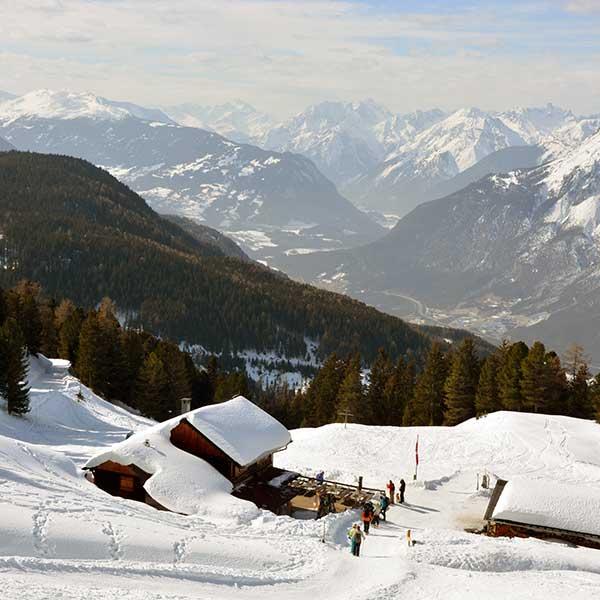 Feldring Alm - Schneeschuhwanderung Ötztal