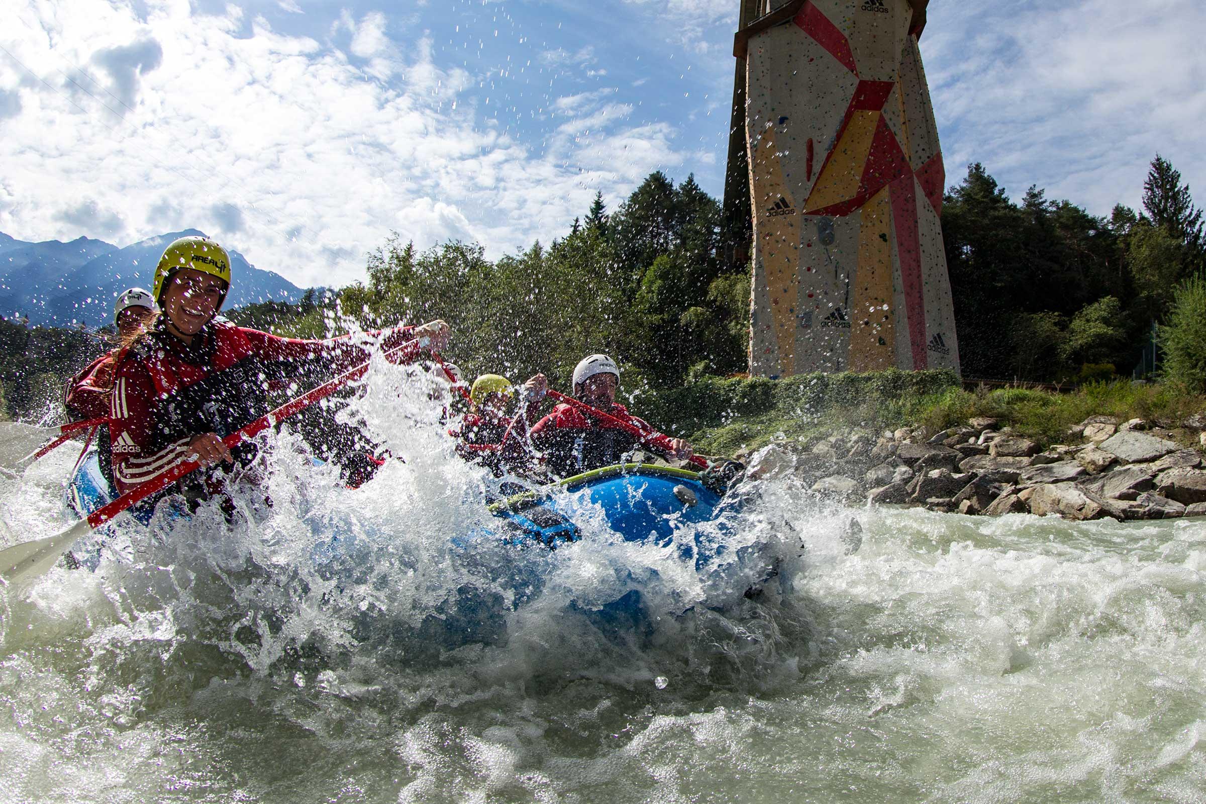 AREA 47 Rafting - Rafting & Canyoning Ötztal