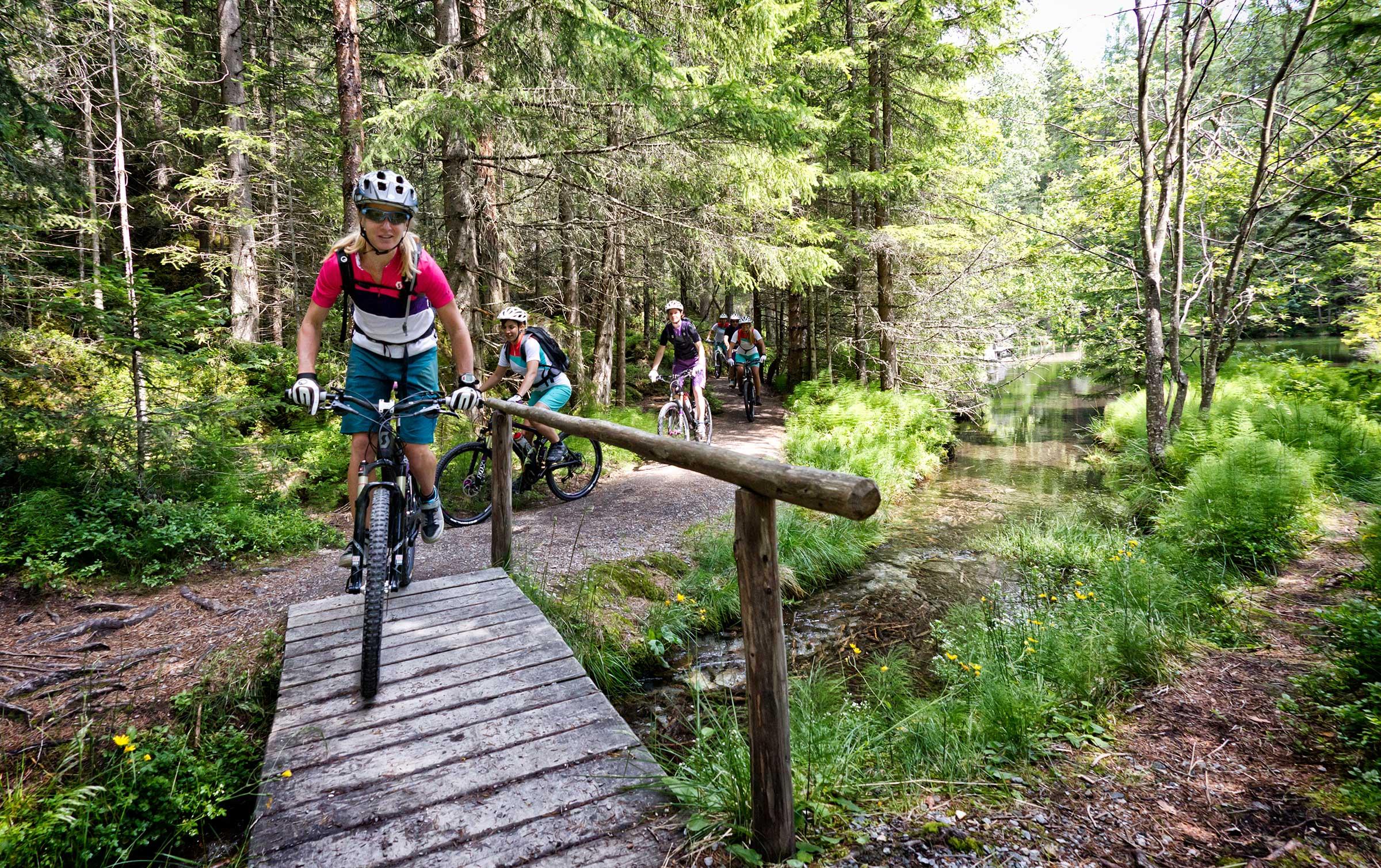 Biketour zum Piburger See - Rafting & Canyoning Ötztal
