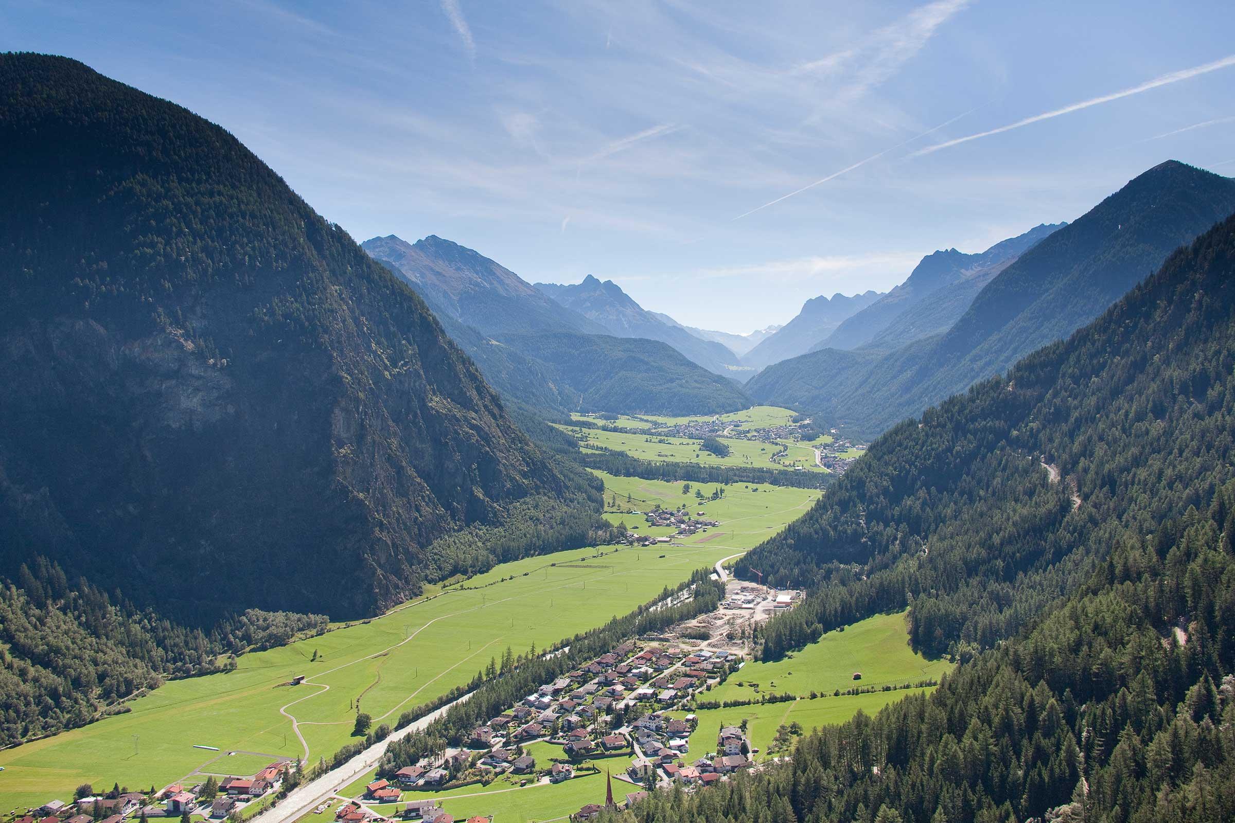 Ötztal Radweg bei Tumpen - Ötztal Radweg