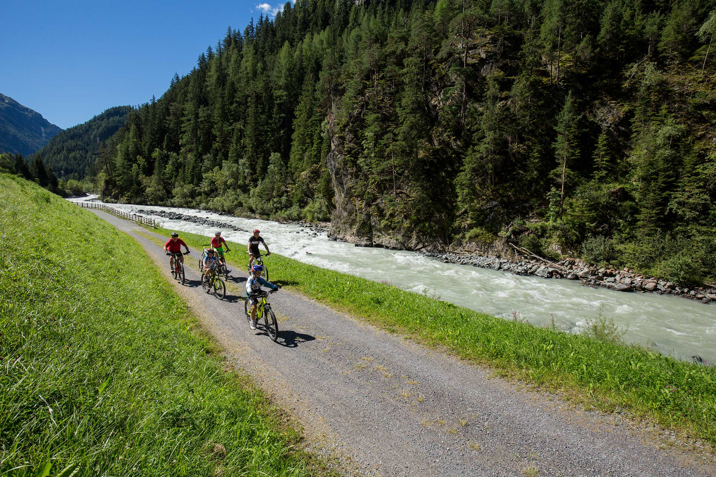 Ötztal Radweg entlang Ötztaler Ache - Ötztal Radweg