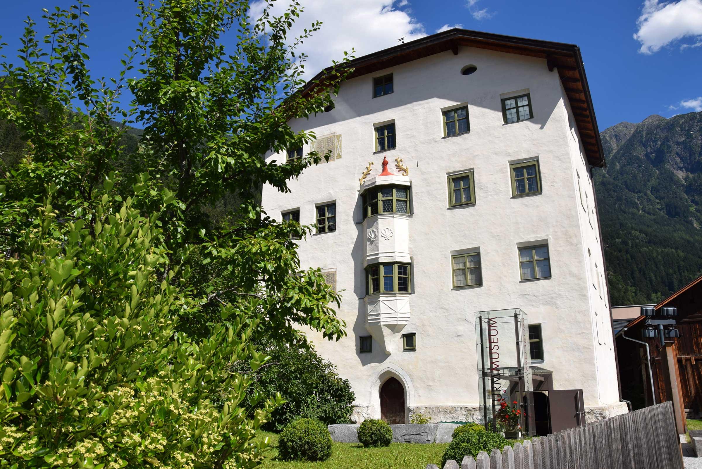 Turmmuseum in Oetz - Ötztaler Radweg