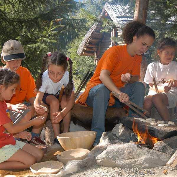 Brot backen im Ötzi-Dorf - Brot selbst backen im Ötztal
