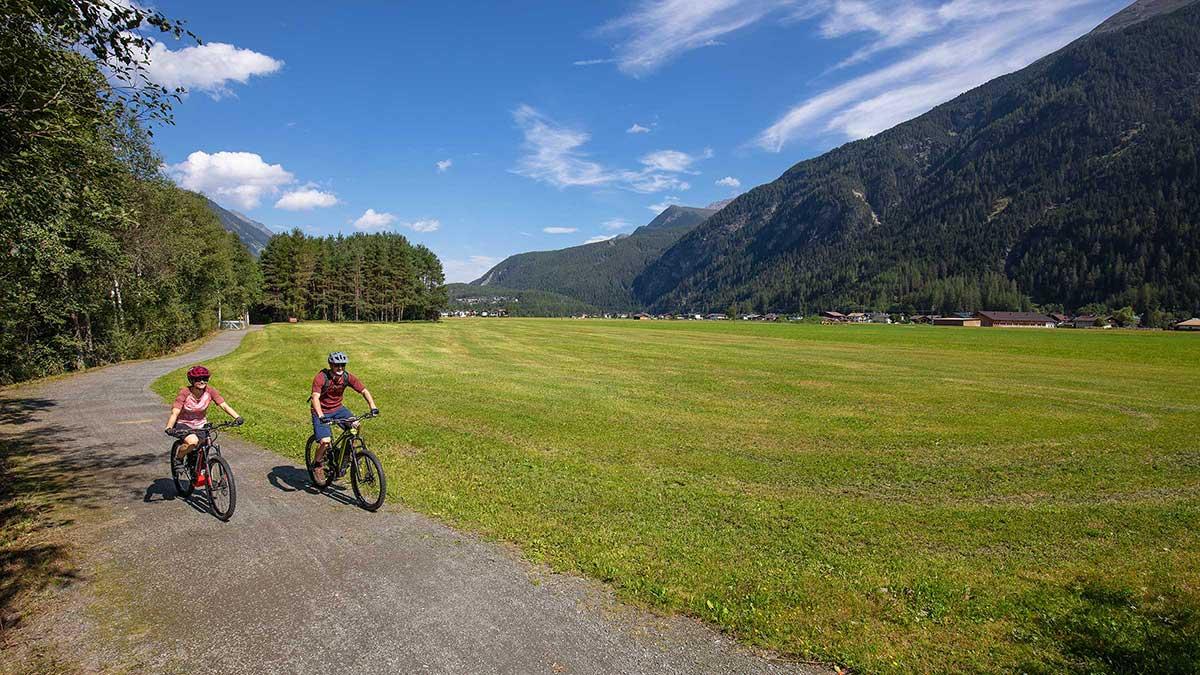 Ötztal Radweg bei Längenfeld - Ötztal Radweg