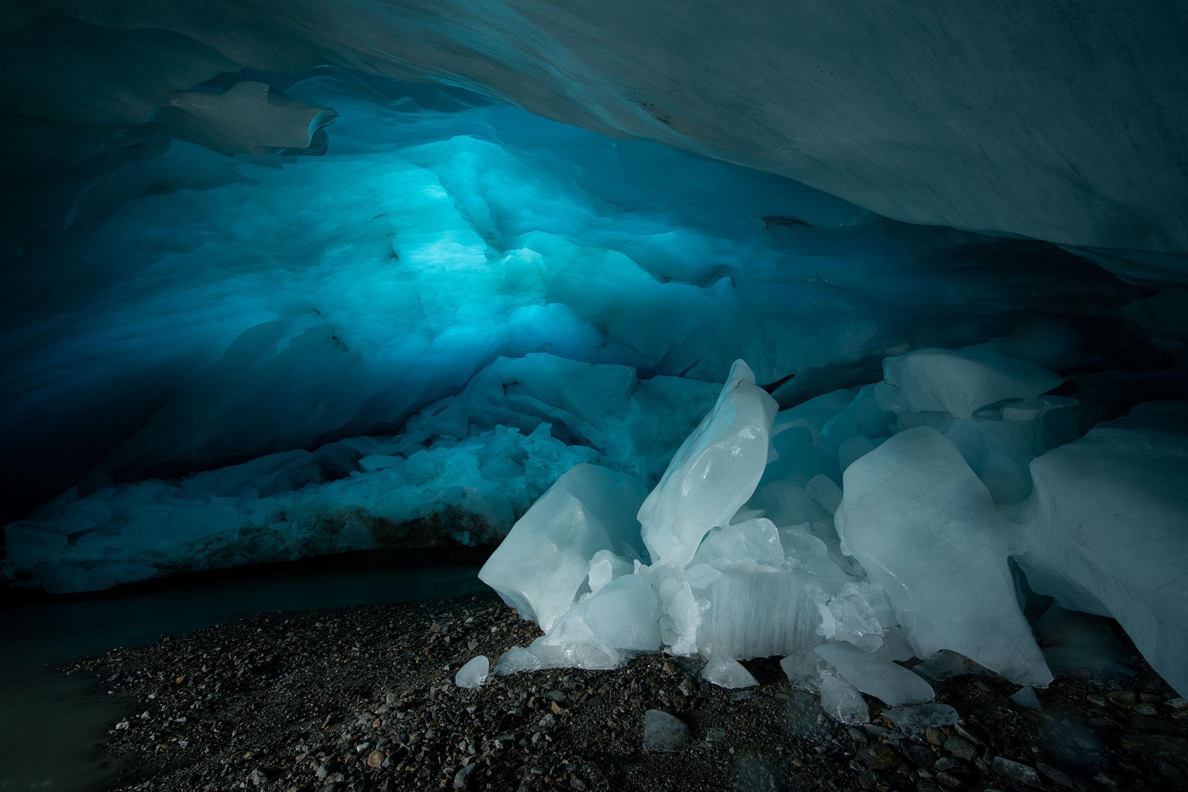 Ewiges Eis am Taschachferner - Ötztaler Gletscher