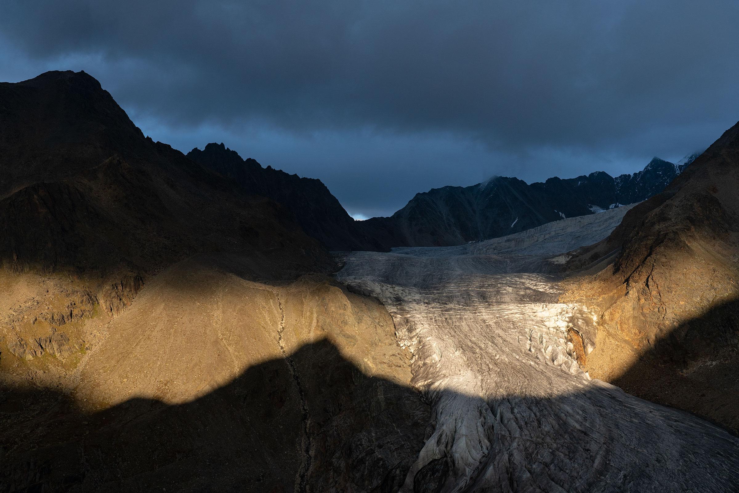 Gletscherzunge Taschachferner - Ötztaler Gletscher