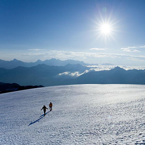 Duo im ewigen Eis - Ötztaler Gletscher