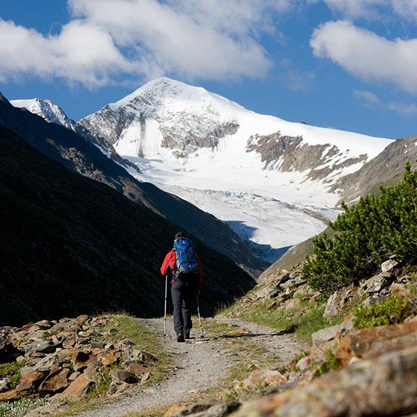 In die Berge - Ötztaler Gletscher