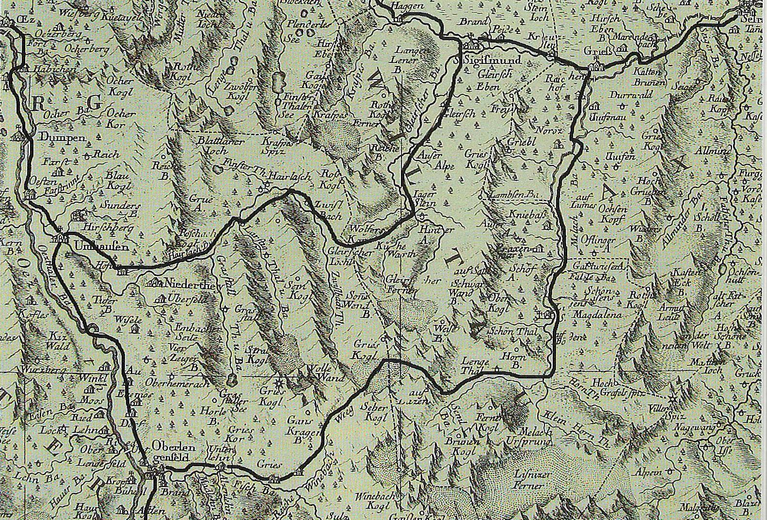 Alte Saumwege vom Ötztal ins Sellraintail - Vom Ötztal ins Sellraintal