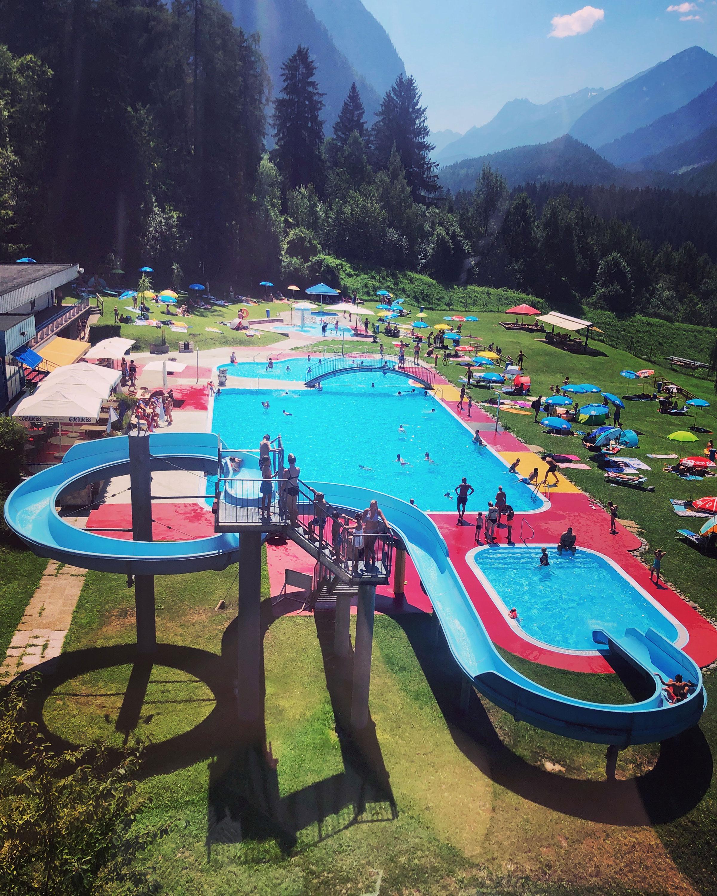 Erlebnisbad Oetz - Familienurlaub Ötztal Tirol