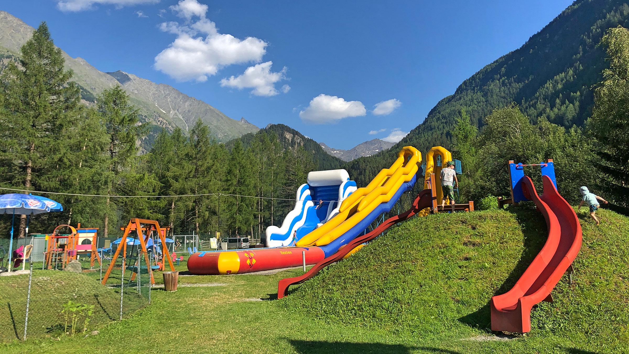 Funpark in Huben bei Längenfeld - Familienurlaub Ötztal Tirol