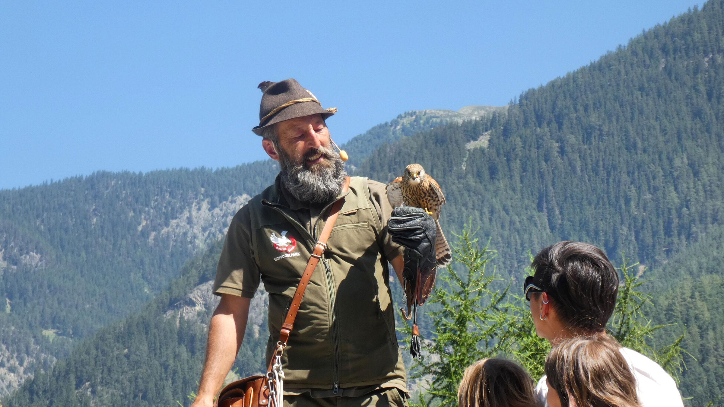 Greifvogelpark - Familienurlaub Ötztal Tirol