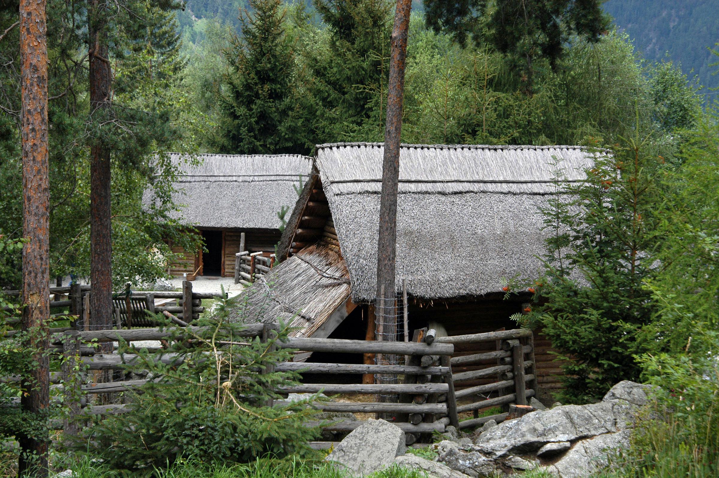 Ötzi-Dorf in Umhausen - Schlechtwetter-Tipps Ötztal