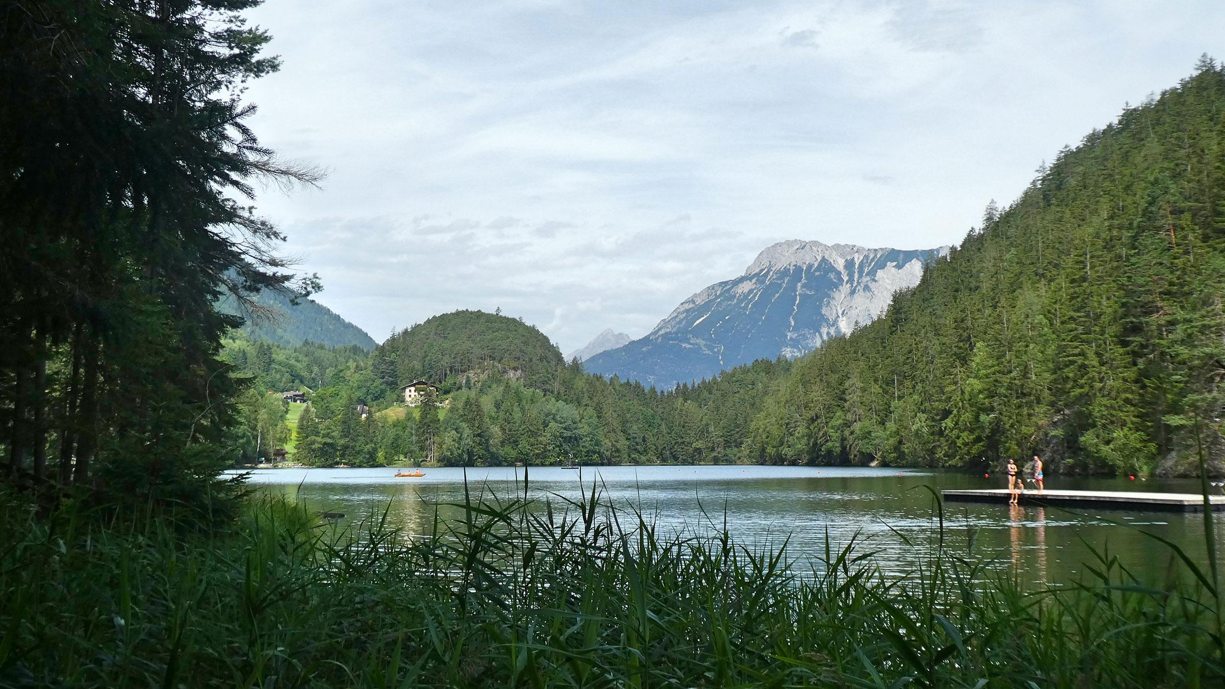 Piburger See - Familienurlaub Ötztal Tirol