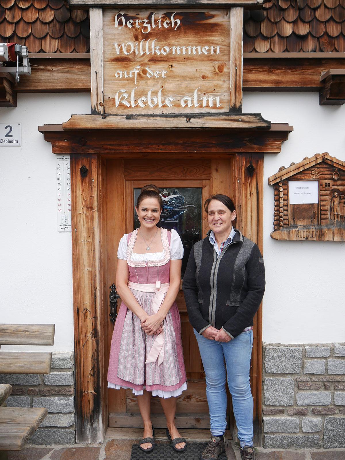 Wirtinnen Kleble Alm - Brauchtum Ötztal Tirol