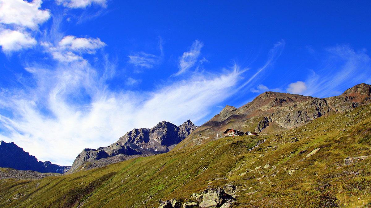 Pforzheimer Hütte - Vom Ötztal ins Sellraintal